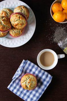 Healthier Meyer Lemon Chia Seed Muffins | TheCornerKitchenB...