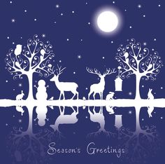 Woodland Christmas cards - available from http://gbss.org.uk/online-shop/christmas/christmas-cards-season-greetings/