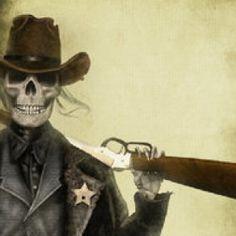 Undead sheriff.