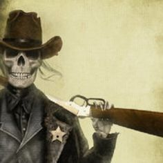 Undead sheriff.