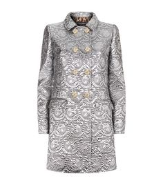 Dolce & Gabbana Metallic Matelassé Coat available to buy at Harrods.Shop clothing online and earn Rewards points.
