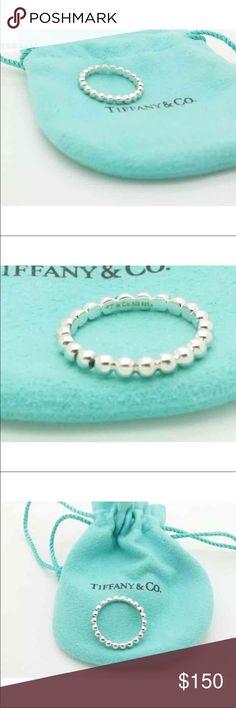 Tiffany ring Size 7 925 Tiffany & Co. Jewelry Rings