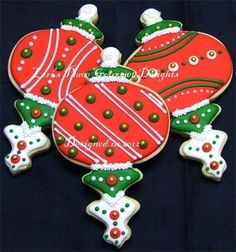 images of ornament cookies | Lori's Place - Ornament cookies | Christmas