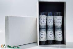Mercedes röviditalos pohárszett autó rajongói ajándék szülinapra, névnapra, karácsonyra, húsvétra díszdobozban. (Biborvarazs) - Meska.hu Subaru, Mazda, Decoupage, Kitchen Decor, Diy, Bricolage, Do It Yourself, Homemade, Diys