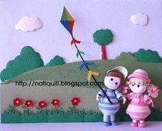 NatiQuill Blog: Bonequinhos