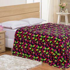 Cobertor / Manta Estampada Casal Sapinhos - baherimports