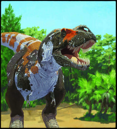 ¡¡Quee bonito!!! Tyrannosaurus rex is part of the carnivorous groups of dinosaurs that, according to new research, maintained a stable level of biodiversity leading up to the mass extinction at the end of the Cretaceous. br /