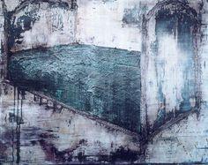 Thomas Fougeirol - Le rêve d'Oskar - huile sur toile - 2002 - 153 x 196 cm