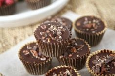 BAKE SHOP: Almond & Coconut Butter Cups — Bare Root