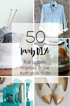 New thrift store upcycling ideas that aren't tacky