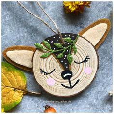 Christmas Ornament Crafts, Christmas Wood, Christmas Crafts For Kids, Christmas Projects, Handmade Christmas, Holiday Crafts, Christmas Decorations, Coaster Crafts, Navidad Diy