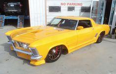 American Muscle Cars… Radical 1964 Custom Buick Riviera