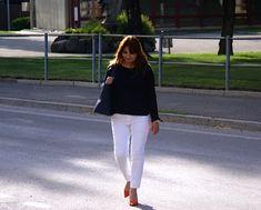 White Jeans, Blog, Pants, Fashion, Fashion Ideas, Accessories, Trouser Pants, Moda, Fashion Styles