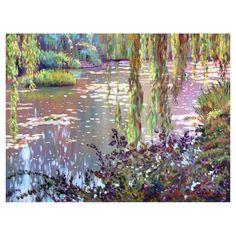 Homage to Monet Canvas