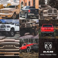 Our Instagram page just towed our biggest haul ever: 100000 fans! Thanks for being a part of the #RamLife with us.