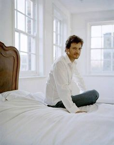 Found the perfect bedroom design :) Colin Firth, male actor, celeb, beard, handsome, sexy, eyecandy, powerful face, intense eyes, hot, Mr. Darcy, portrait, photo