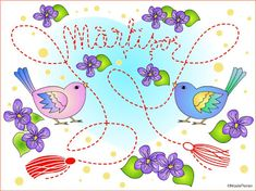 Nicole's Free Coloring Pages: 1 Martie Martisor * Desen de colorat cu Martisor *. Wedding Coloring Pages, Spring Coloring Pages, Coloring Pages For Kids, Coloring Books, Color By Number Printable, Winter Princess, Modern Princess, Santa Letter, Red Berries
