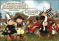 Carte postale mam goz les bretons ne sont pas