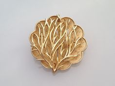 25% OFF CLEARANCE SALEVintage Signed Coro Brooch. Mid Century Tree Form Brooch, interesting Flower Brooch, Tree Branch Brooch. by TheOldJunkTrunk on Etsy https://www.etsy.com/listing/242958011/25-off-clearance-salevintage-signed-coro