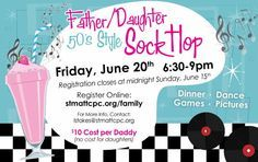 Daddy Daughter 50's Sock Hop 2014