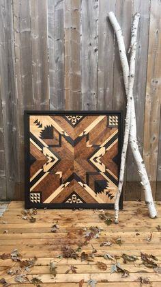Reclaimed wooden wall panel/art | Etsy