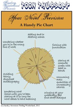 Your Novel Revision - A Handy Pie Chart