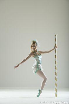 Zoe White in Christopher Marney's 'Carousel Dances'.