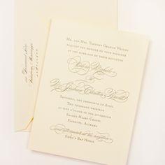 Fresh Ink: Wedding Invitation