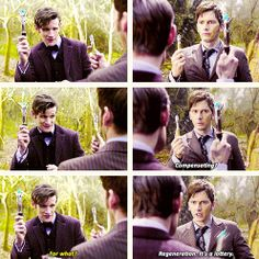 """Doctor Who - The Day of the Doctor - """"Compensating?"""""""