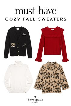 snuggle up in something warm. chic sweaters right this way.