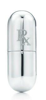"Tiffany's ""Rx"" capsule pillbox"