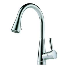 home faucets kitchen brizo belo single hole faucet stainless