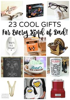 23 Super Cool Gifts for Every Kind of Dad - a 2016 Father's Day Gift Guide from B-Inspired Mama Fathers Day Crafts, Gifts For Father, Happy Fathers Day, Gifts For Boys, Gadget Gifts, Geek Gifts, Holiday Gift Guide, Holiday Gifts, Father's Day Diy