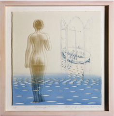 """Infinity II"" by Mila Fürstová silkscreen on glass and etching 41 x 41cm http://www.agallery.co.uk/gallery/mila_furstova.php?pg=1 #Art #AGalleryArtists #MilaFurstova #contemporaryart #modernart #paint #painting"