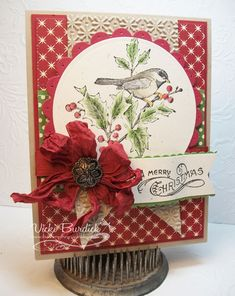 CC434....A Merry Christmas by justcrazy - Cards and Paper Crafts at Splitcoaststampers
