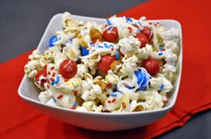 The Avid Appetite - The Avid Appetite - Secret Recipe Club: NY Giants & Jets Popcorn Party Mix