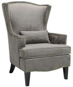 Testoni Wing Back Chair  The Testoni Wing Back Chair Adds Elegance and Style to Your Home.