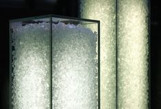 Glass Lamps, Recycled Glass, Interior Inspiration, Interior Architecture, Sconces, Recycling, Wall Lights, Ceiling, Flooring