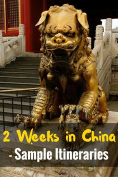 2 Weeks in China: Sample Itineraries - FreeYourMindTravel China Travel Guide, Asia Travel, Travel Tips, Travel Articles, Moving To China, Visit China, Backpacking Asia, A Whole New World, Ultimate Travel