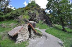 Arrowtown - Goldminen Hütten - Neuseeland im September