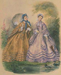 Листая старый журнал Мод... | Непостоянная и причудливая мода всегда интересовала женщину.... Обсуждение на LiveInternet…