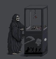 halloween prank reaper