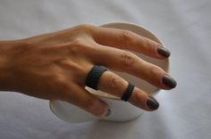 https://www.etsy.com/listing/164538486/anthracite-grey-ring-from-faceted-glass
