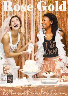 Coordinate the bridal party and look amazing together with our gorgeous rose gold tank tops! Whether the crew is heading to the bridal shower, rehearsal dinner, or bachelorette party, make sure they go in style! Bachelorette Party Decorations, Party Favors, Bridal Decorations, Bridal Party Shirts, Rose Gold, Bachelorette Shirts, Bachelorette Supplies, Bride, Bridal Shower