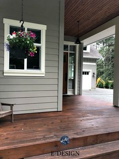 Exterior Gray Paint, Exterior Paint Colors For House, Paint Colors For Home, Exterior Design, Cabin Exterior Colors, Siding Colors For Houses, Exterior Paint Ideas, Gray Exterior Houses, Exterior Wood Stain Colors