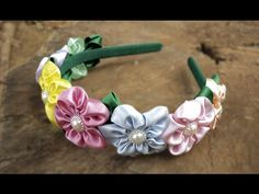 TIARA DE FLORES ♥ DIY - PASSO A PASSO ♥, My Crafts and DIY Projects