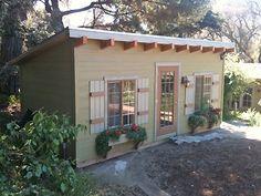 California Custom Sheds - 10'x20' Shed Roof