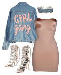 """""""Untitled #267"""" by milly-oro on Polyvore featuring Monika Chiang, High Heels Suicide, SPANX and Levi's"""