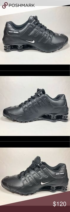 Nike Mens Sz 13 Nike Shox Nz Black Running Shoes Excellent Like New Condition Never Worn New Without Box See Picture For Details. S515 Nike Shoes Sneakers