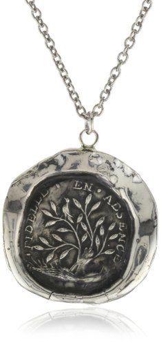 """Pyrrha """"talisman"""" Sterling Silver Fidelity Necklace Pyrrha http://www.amazon.com/dp/B0041OSW42/ref=cm_sw_r_pi_dp_W4Y8vb1AH1YR0"""